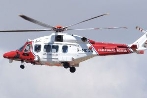 0 Coastguard helicopter