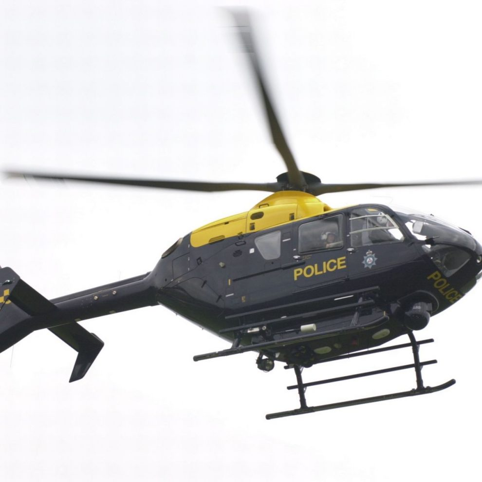 0 Police helicopter