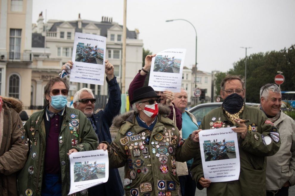 Battle on the beaches with Brighton Council, UKNIP