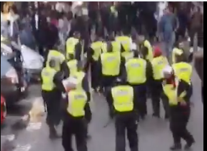 Seven officers hurt trying to break up unlicensed music event in Hammersmith and Fulham, UKNIP