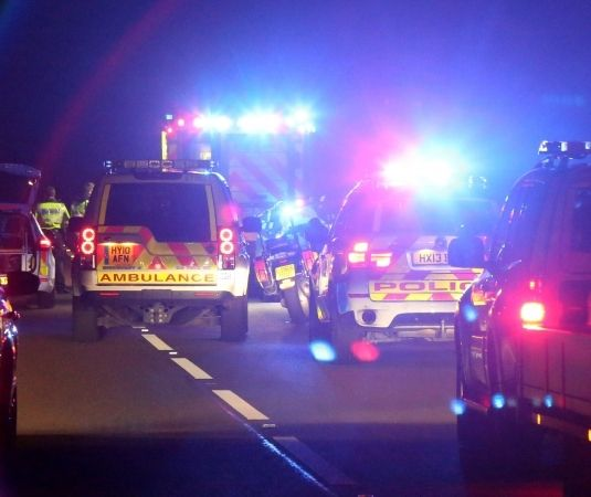 A3 in Hampshire  closed  following serious collision, UKNIP