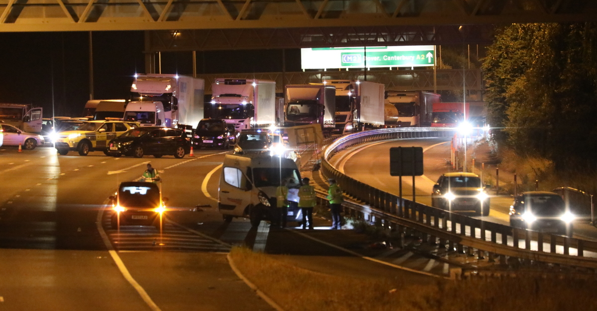 A2 in Kent set to remain closed for several hours following fatal collision, UKNIP