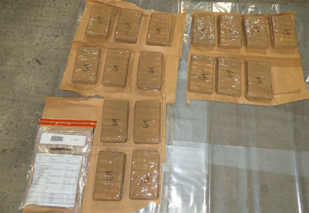 One million pounds worth of suspected cocaine has been seized by Kent, UKNIP