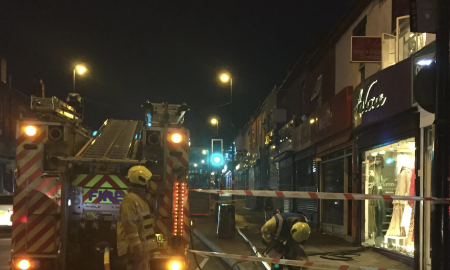 They have 6 fire engines and 30 firefighters dealing with the incident, UKNIP
