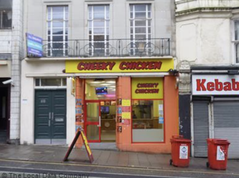 Mohammed Ali, 43, worked illegally at the Cheeky Chicken in West Street during the height of Brighton's summer holiday season., UKNIP