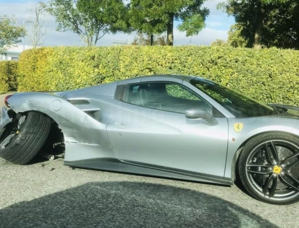 The vehicles current owner only acquired the Ferrari 19 days ago, and was currently run on a motor traders policy, UKNIP