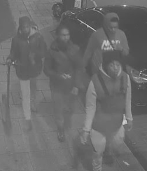 A man was involved in a fight with four males, who punched and stamped on him, UKNIP