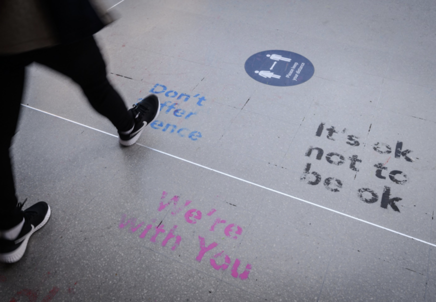 gtr spreads messages of support on suicide prevention day