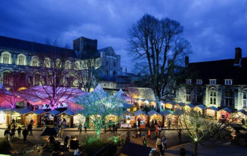 Winchester Christmas market has been cancelled this year due to growing concerns over the Coronavirus pandemic., UKNIP