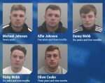 Five car thieves have been jailed for more than 29 years for their roles in a series of burglaries across Kent and surrounding areas, UKNIP