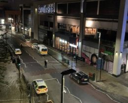 Murder investigation launched  after 15 year old boy  stab victim dies after stabbing outside Wandsworth Southside, UKNIP