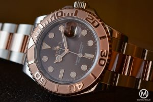 Rolex Yacht Master 116621 Two Tone Everose Steel Chocolate Dial 1