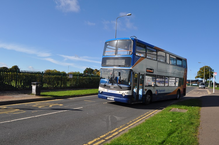 bus at college