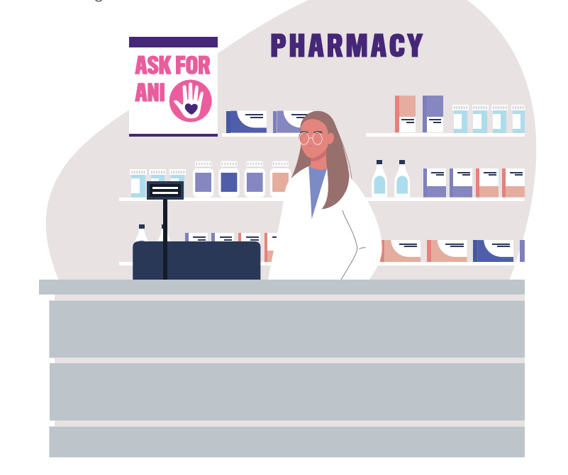 Ask for Ani pharmacy graphic