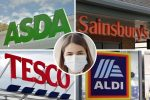 FACE MASK RULES ASDA TESCO ALDI SAINSBURYS