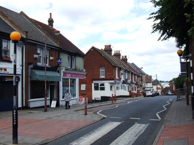 Delce Road Rochester geograph org uk