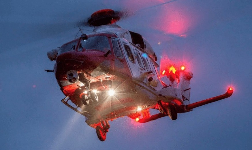 rescue operation in the english channel off fred olsens braemar cruise ship