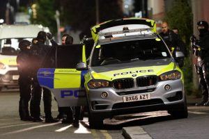 armed police storm tottenham property late on sunday evening