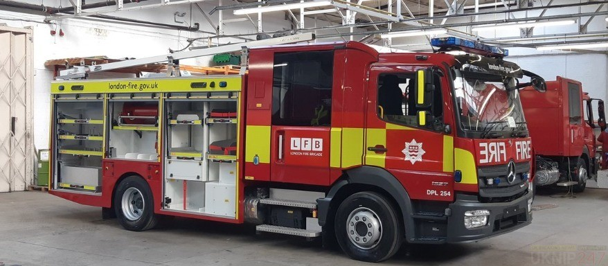 london fire brigade place orders for tallest turntable ladders in the country