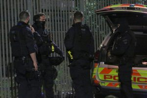 armed police storm tottenham property late on sunday evening x