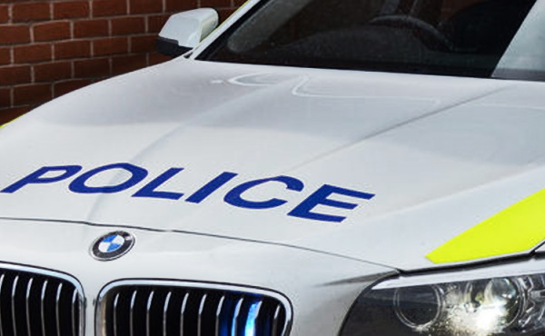 police car front px
